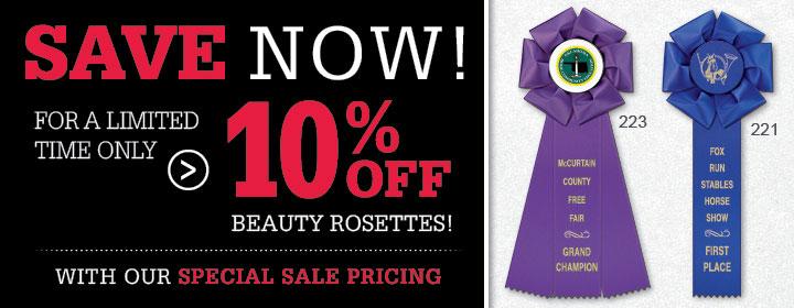 10% Off Beauty Rosettes