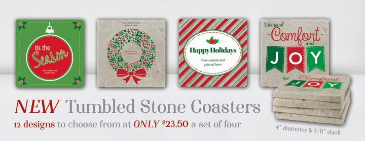 NEW Holiday Coasters