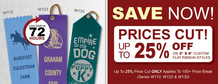 Up to 24% off select Ribbons