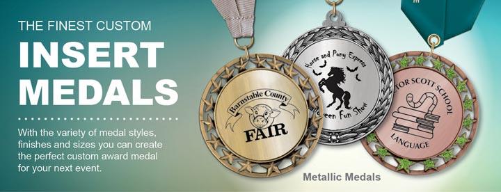 Custom Metallic Medals