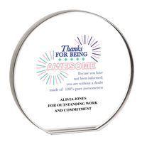 Round Acrylic Award