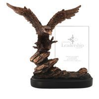 Bronze Resin Eagle Trophy