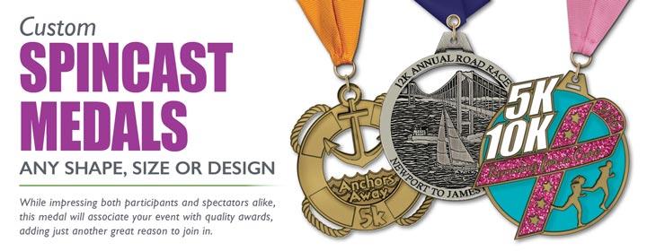 Spincast Medals