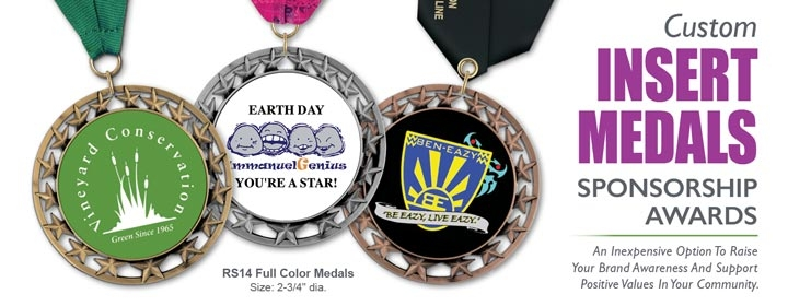 Full Color Medals