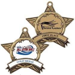 All Star Full Color Award Medal