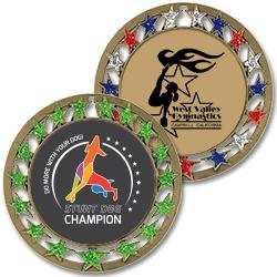 RSG Full Color Award Medals