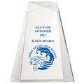 Full Color Pinnacle Acrylic Swimming Award
