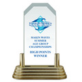 Full Color Pop-In™ Jade Acrylic Sports Award