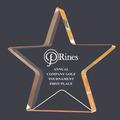 Gold Star Shimmer Acrylic Award Trophy