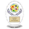 Free Standing Oval Trophy