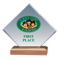 Full Color Diamond Acrylic Horse Show Award