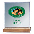 Full Color Square Acrylic Horse Show Award