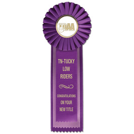 Alton Dog Show Rosette Award Ribbon