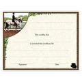 In-Stock Full Color Horse Theme Award Certificate - Dressage Design