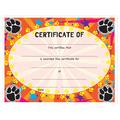 Full Color Stock Certificates - Paws Design