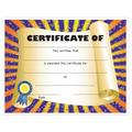 Full Color Stock Certificates - Scroll Design
