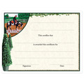 In-Stock Full Color Horse Theme Award Certificate - Western Trail Design