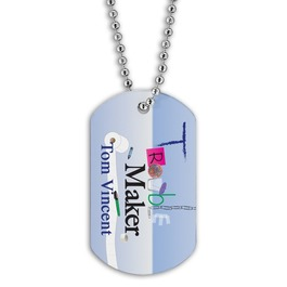 Dog Tags w/ Stock Designs