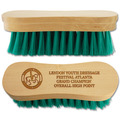Engraved Horse Face Brushes with Text and Logo