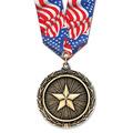 LX Award Medal w/ Multicolor Neck Ribbon