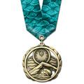 ES Award Medal w/ Multicolor Neck Ribbon