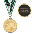 BL Award Medal w/ Grosgrain Neck Ribbon - ENGRAVED