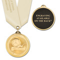BL Award Medal w/ Satin Neck Ribbon- ENGRAVED