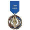 CEM Award Medal w/ Satin Drape Ribbon