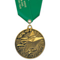 AC Achiever Award Medal w/ Satin Neck Ribbon