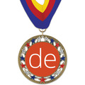 RSG Full Color Award Medal w/ Millennium Neck Ribbon