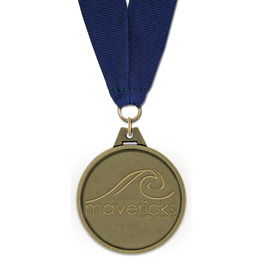 HG Award Medal w/ Grosgrain Neck Ribbon