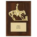 Barrel Racing Award Plaque
