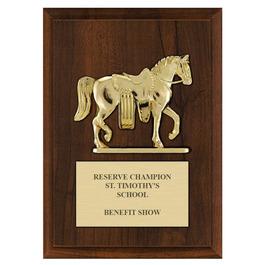 Western Parade Award Plaque