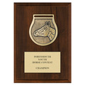 Victory Medal Award Plaque