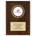 RS14 Medal Award Plaque - Cherry Finish