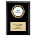 RS14 Medal Award Plaque - Black Finish