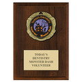 XBX Medal Award Plaque - Cherry Finish
