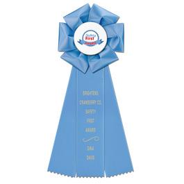 Beauty Rosette Award Ribbon
