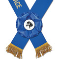 Bourne Custom Rider's Award Sash