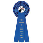 Barnet Rosette Dog Show Award Ribbon