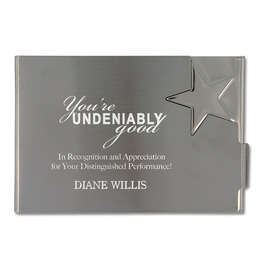 Star Business Card Holder