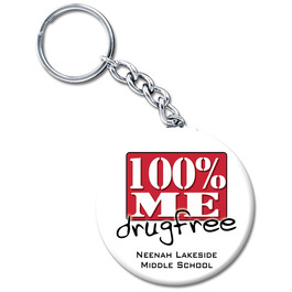 Drug Awareness Custom Keychains