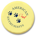 "2-1/4"" Cat Show Button w/ Pin"