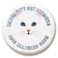 3&quot; Cat Show Button w/ Pin