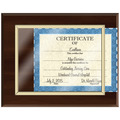 Certificate Plaque - Black