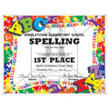 Full Color Custom School Certificates - ABC's Design