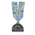 CG Sports Medal w/ Multicolor Neck Ribbon
