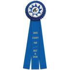 Chatham Fair, Festival & 4-H Rosette Award Ribbon
