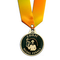 CL Medal w/ Specialty Satin Neck Ribbon