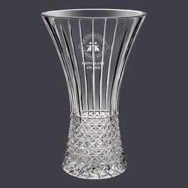 Krystof Crystal Hourglass Vase Trophy